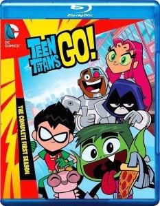 Teen Titans Go Season 1 Blu-ray Box Cover Art