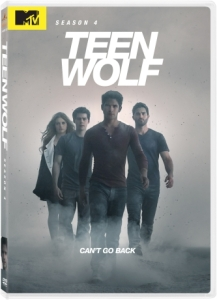 Teen Wolf DVD Box Cover Art