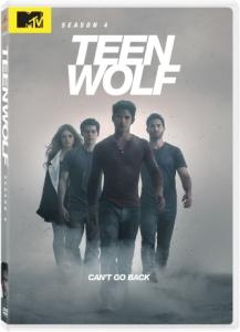 Teen Wolf DVD Box Cover Art