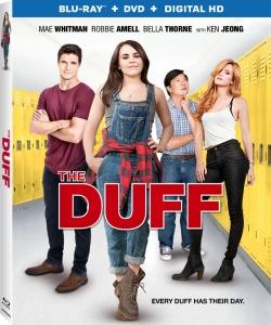 The DUFF Blu-ray Box Cover Art
