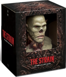 The Strain Season 1 Collectors Edition Blu-ray Box Cover Art