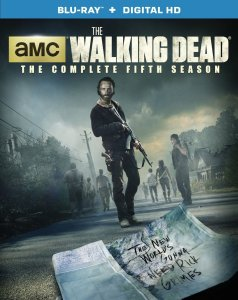The Walking Dead Season 5 Blu-ray Box Cover Art