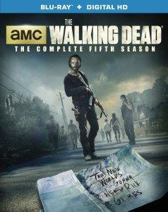 The Walking Dead Season 5 Blu-ray Box Cover Art
