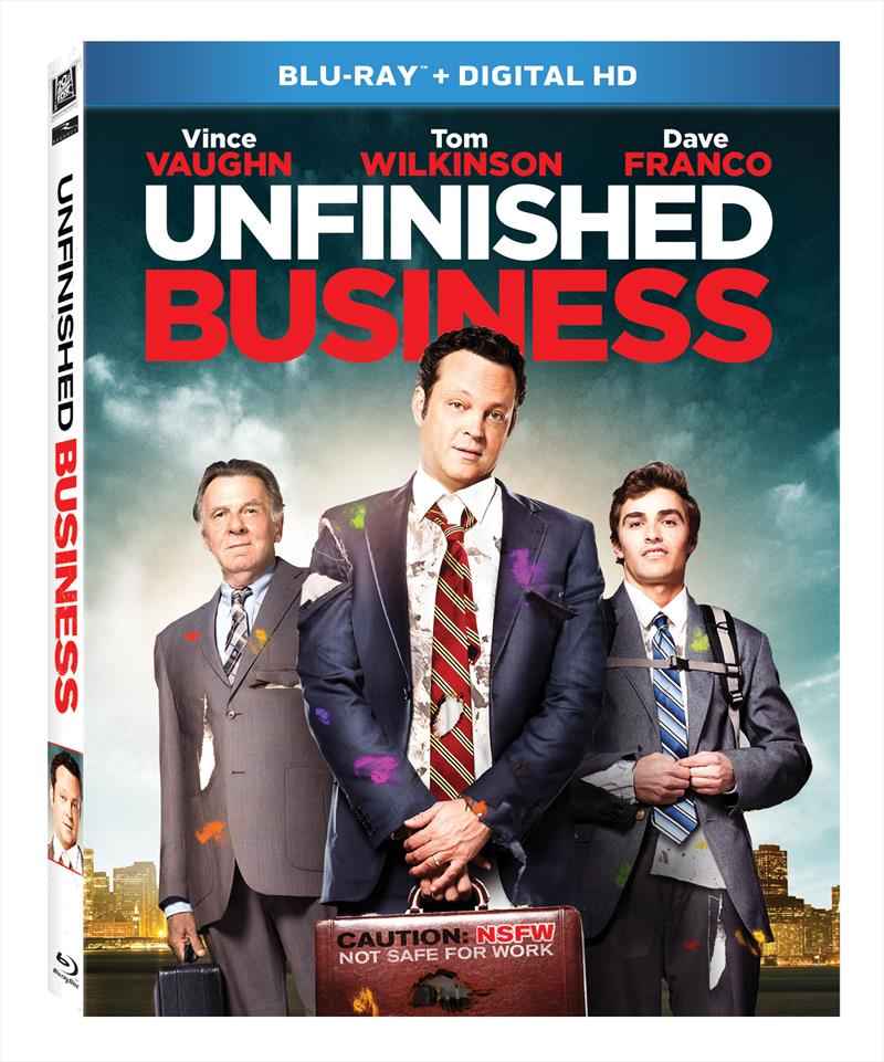 Unfinished Business Blu-Ray Box Cover Art