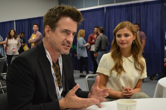 WonderCon 2015 Insidious Chapter 3 Dermot Mulroney Stefanie Scott Interview