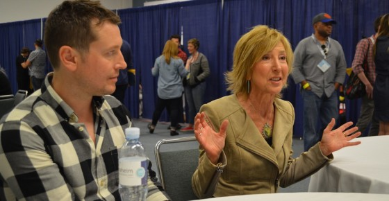 WonderCon 2015 Insidious Chapter 3 Lin Shaye Leigh Whannell Interview