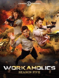 Workaholics Season 5 Blu-ray Box Cover Art