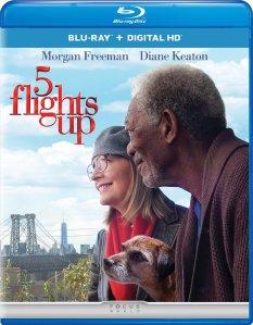 5 Flights Up Blu-ray Box Cover Art