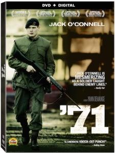 '71 DVD Box Cover Art