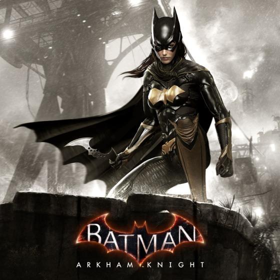 Batman Arkham Knight Batgirl Art