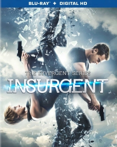 Divergent Series Insurgent Blu-Ray Box Cover Art