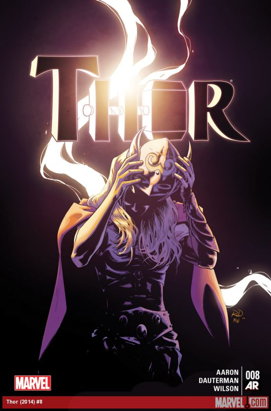 Female Thor 2014 Issue 8 Cover Marvel Comics