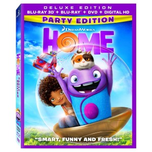 Home Blu-ray Box Cover Art