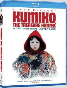 Kumiko The Treasure Hunter Blu-Ray Box Cover Art
