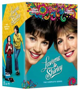 Laverne and Shirley Complete Series DVD Box Cover Art
