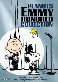 Peanuts Emmy Honored Collection DVD Box Cover Art