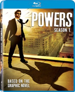 Powers Season 1 Blu-ray Box Cover Art