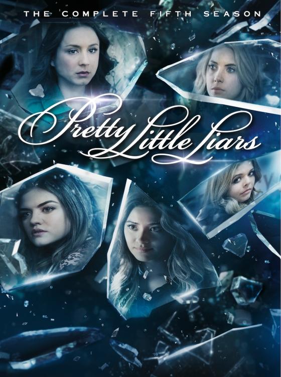 Pretty Little Liars Season 5 DVD Box Cover Art