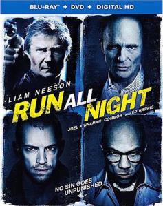 Run All Night Blu-Ray Box Cover Art