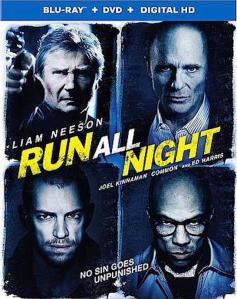 Run All Night Blu-Ray Box Cover Art