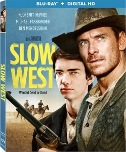 Slow West Blu-Ray Box Cover Art