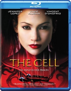 The Cell Blu-Ray Box Cover Art
