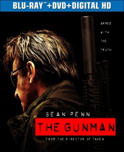 The Gunman Blu-Ray Box Cover Art