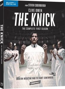 The Knick Season 1 Blu-ray Box Cover Art