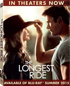 The Longest Ride Blu-Ray Box Cover Art