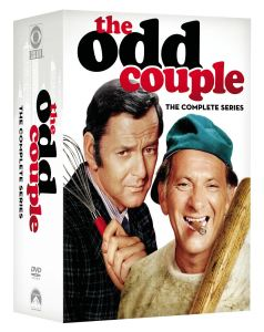 The Odd Couple Complete Series DVD Box Cover Art