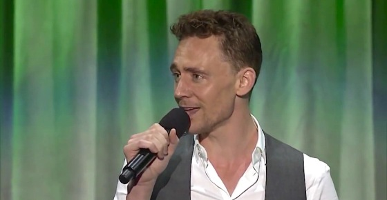 Tom Hiddleston The Jungle Book D23 Expo 2013