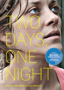 Two Days One Night Blu-Ray Box Cover Art