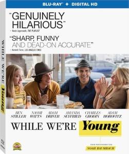 While We're Young Blu-Ray Box Cover Art
