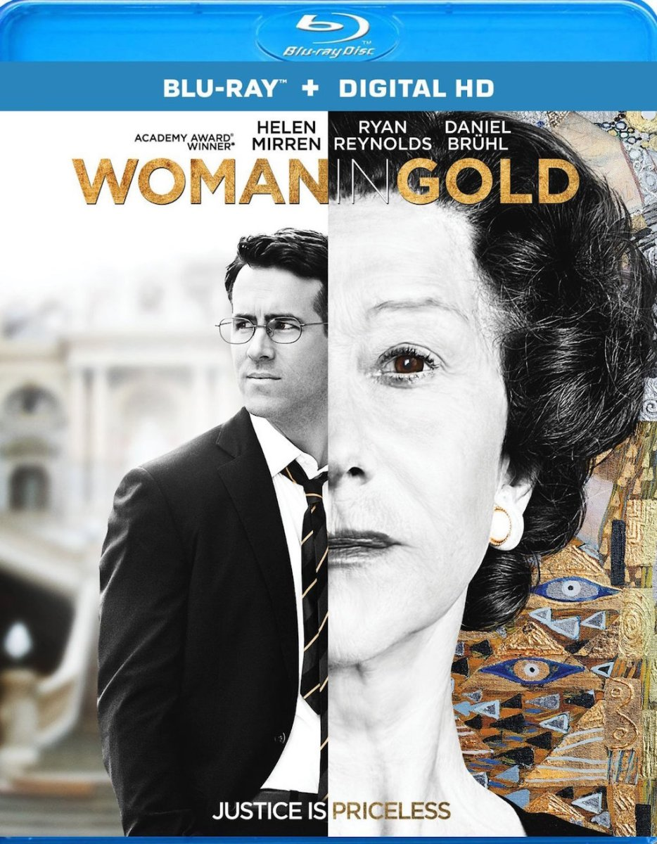 Woman in Gold Blu-ray Box Cover Art