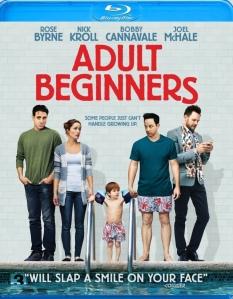 Adult Beginners Blu-ray Box Cover Art