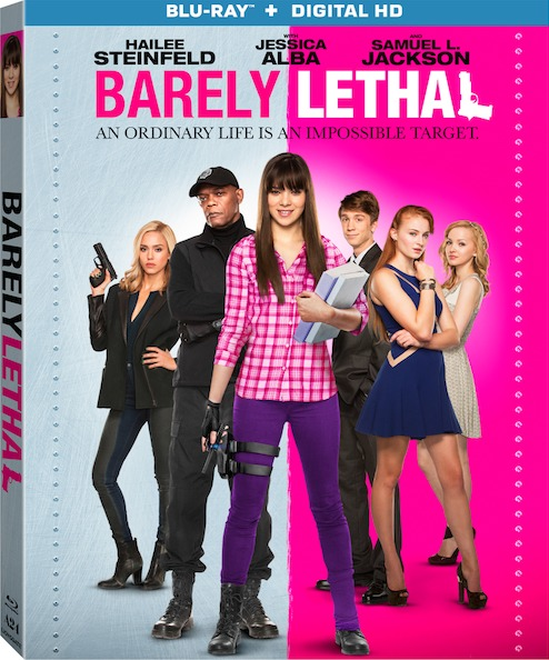 Barely Lethal Blu-ray Box Cover Art