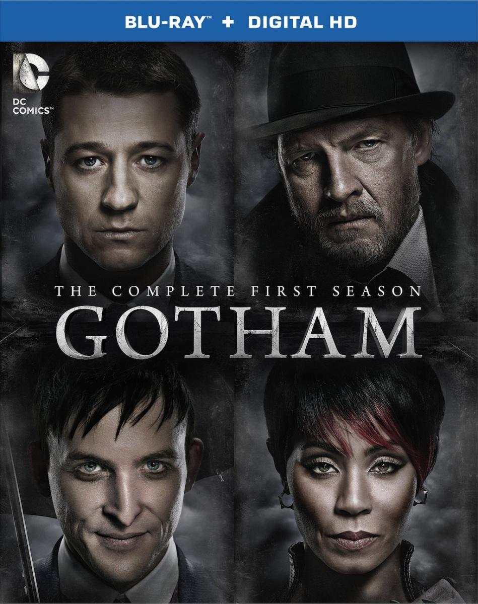 Gotham Season 1 Blu-ray Box Cover Art