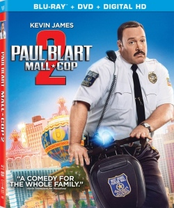 Paul Blart Mall Cop 2 Blu-ray Box Cover Art