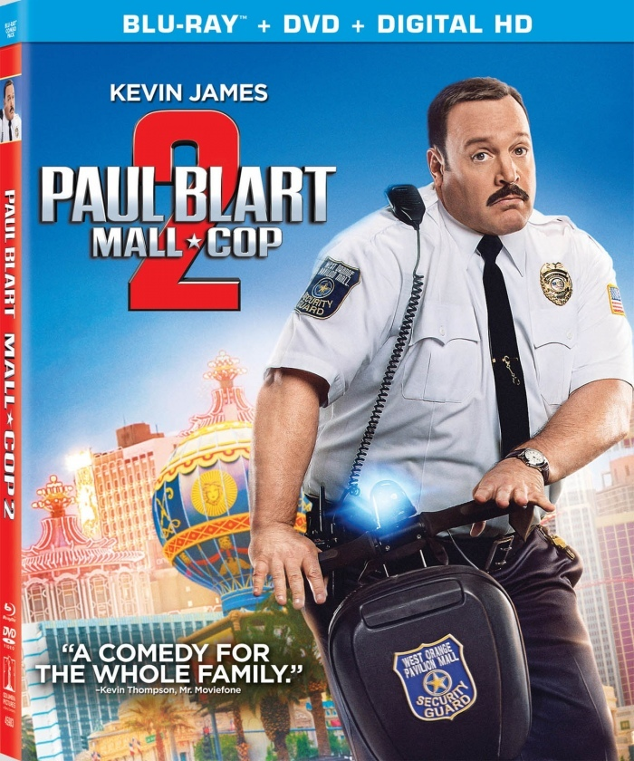 Paul Blart Mall Cop 2 Blu-ray Box Cover Art