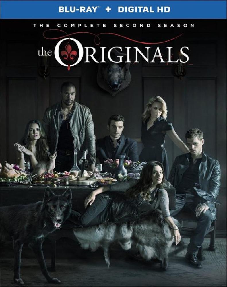 The Originals Season 2 Blu-ray Box Cover Art