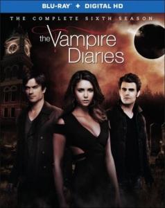 The Vampire Diaries Season 6 Blu-ray Box Cover Art