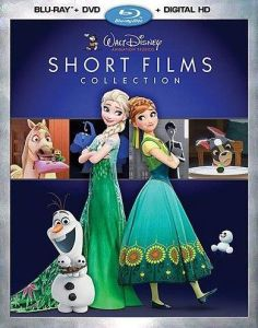 Walt Disney Animation Studios Short Films Collection Blu-ray Box Cover Art