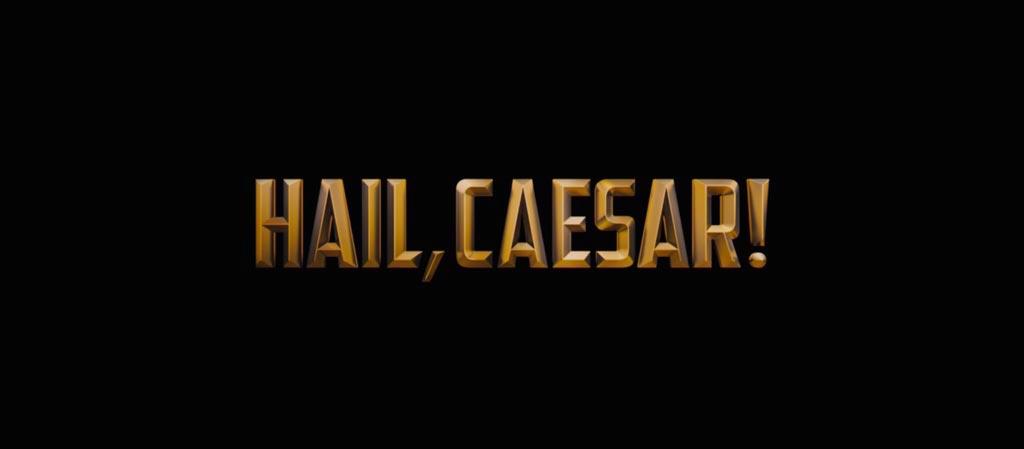 Hail, Caesar! Movie Title Logo