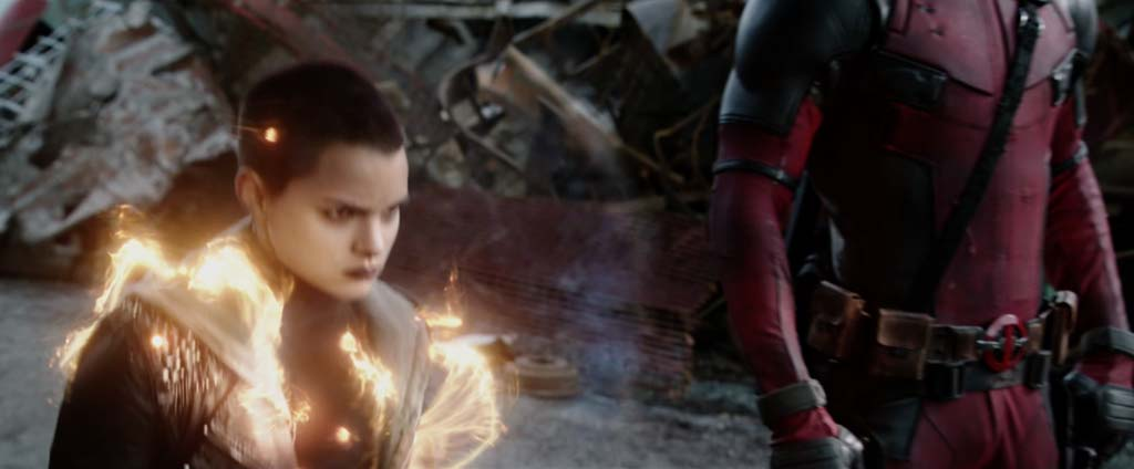 Deadpool Movie Screenshot Brianna Hildebrand Negasonic Teenage Warhead Powers