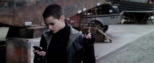 Deadpool Movie Screenshot Brianna Hildebrand Negasonic Teenage Warhead Texting