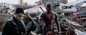 Deadpool Movie Screenshot Brianna Hildebrand Negasonic Teenage Warhead Tweeting