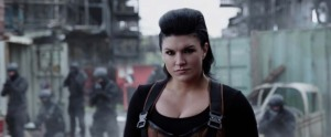 Deadpool Movie Screenshot Gina Carano Angel Dust Mullet