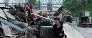 Deadpool Movie Screenshot Gina Carano Angel Dust Punch