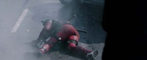 Deadpool Movie Screenshot Ryan Reynolds Suit Legs