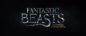 Fantastic Beasts and Where to Find Them Title Movie Logo